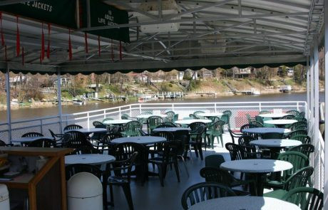 Top Deck of the Star of Saugatuck