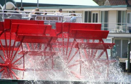 Paddle Wheel from the Star of Saugatuck