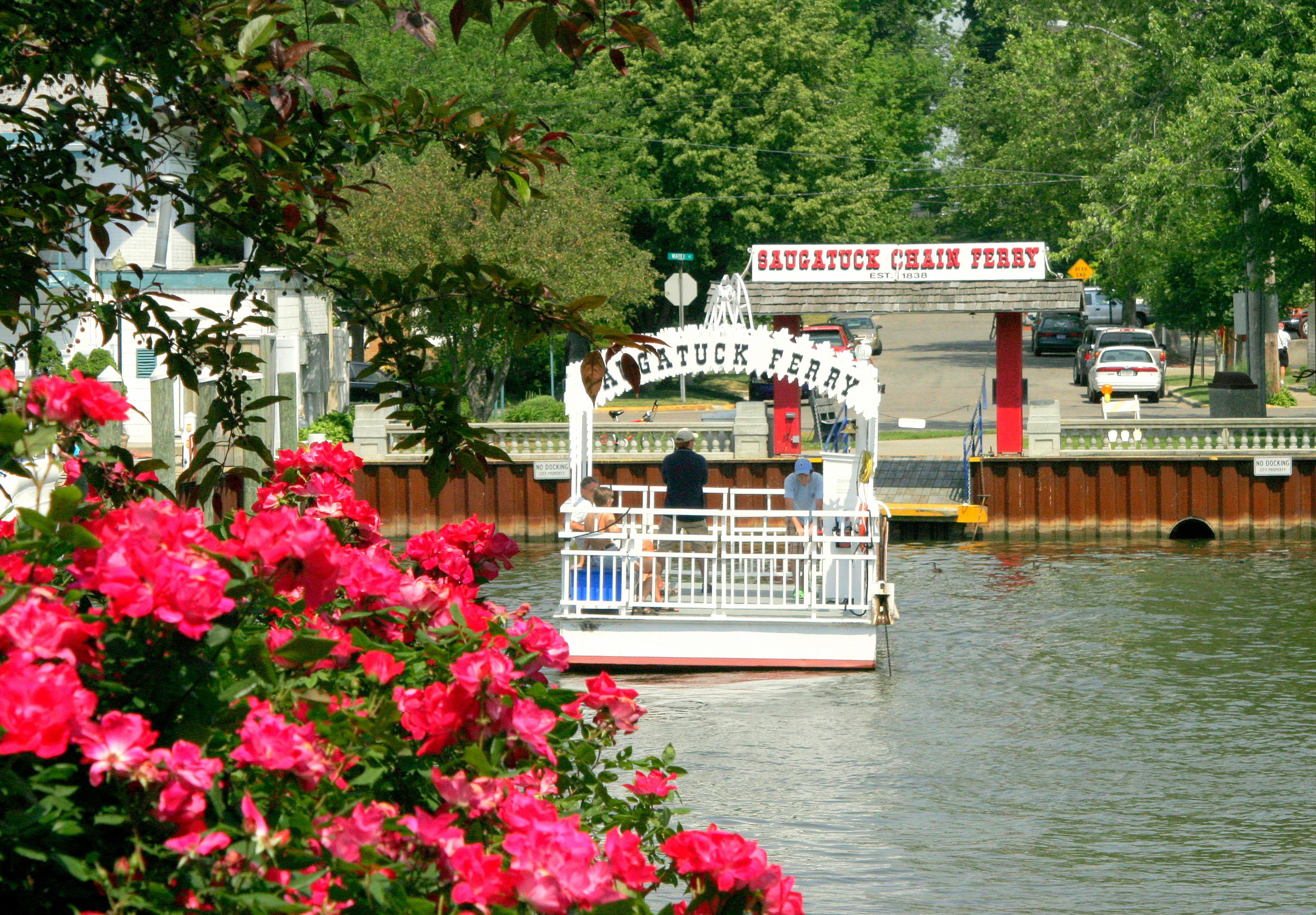 Historic Saugatuck Chain Ferry